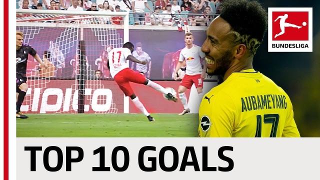 Top 10 bàn thắng đẹp nhất năm 2017 Bundesliga