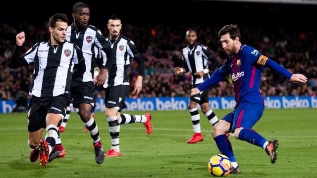 Barcelona 3-0 Levante (Vòng 18 La Liga 2017/18)