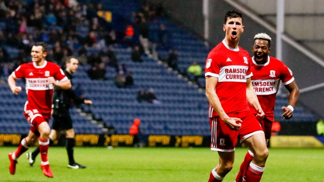 Preston North End 2-3 Middlesbrough (Vòng 26 hạng nhất Anh 2017/18)
