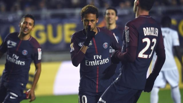 Amiens 0 - 2 PSG (Vòng 4 Cup Liên đoàn Pháp 2017/18)
