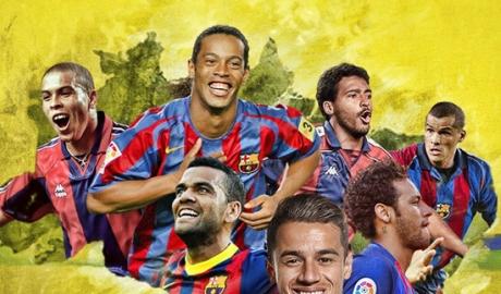 Số phận 10 ngôi sao Brazil từng khoác áo Barca
