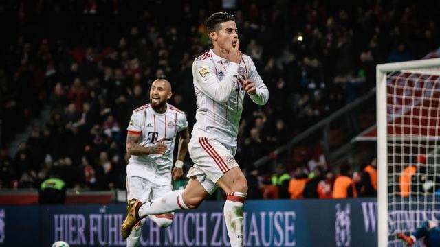 Bayer Leverkusen 1 - 3 Bayern Munich (Vòng 18 Bundesliga 2017/18)