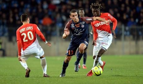 Hòa nhạt Montpellier, Monaco nguy cơ mất ngôi nhì