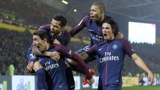 Nantes 0-1 PSG (Vòng 20 Ligue 1 2017/18)