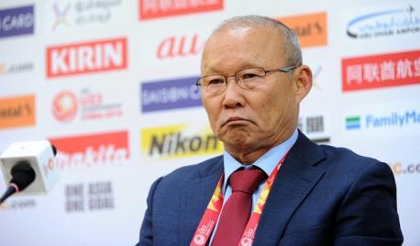 HLV Park Hang-seo: 'U23 VN đuối sức, buộc phải chơi phòng ngự'