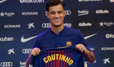 Bí ẩn đằng sau việc Coutinho không khác áo số 7 ở Barca
