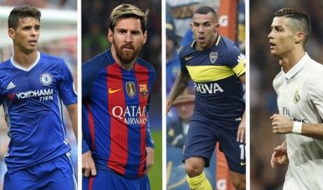 """Top 10 """"triệu phú lương bổng"""" của thế giới bóng đá hiện nay"""