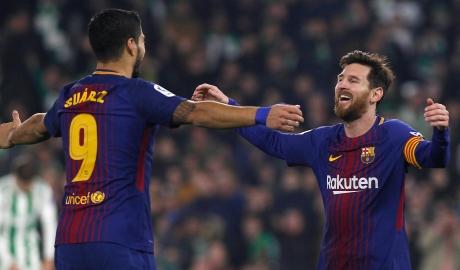 Messi, Suarez cùng lập cú đúp, Barca tạo cách biệt mới