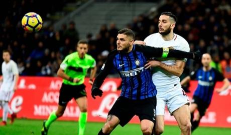Thoát thua Roma, Inter tụt xuống thứ 4