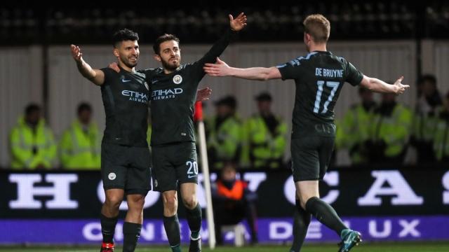 Bristol City 2-3 Man City (Lượt về bán kết Cup Liên đoàn Anh 2017/18)