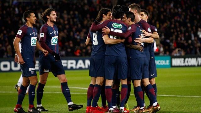 PSG 4-2 Guingamp (Vòng 1/16 Cup QG Pháp 2017/18)