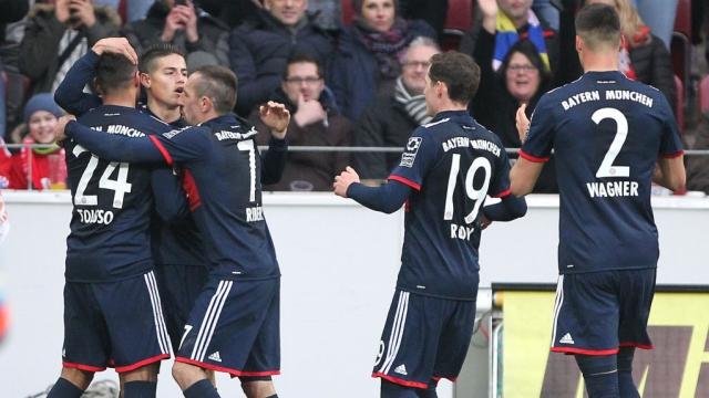 Mainz 05 0-2 Bayern Munich (Vòng 21 Bundesliga 2017/18)