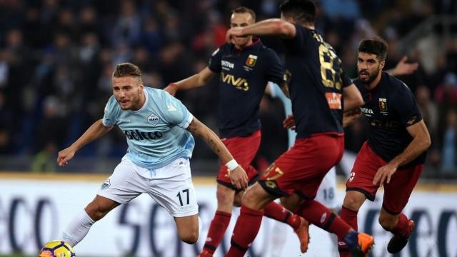 Lazio 1-2 Genoa (Vòng 23 Serie A 2017/18)
