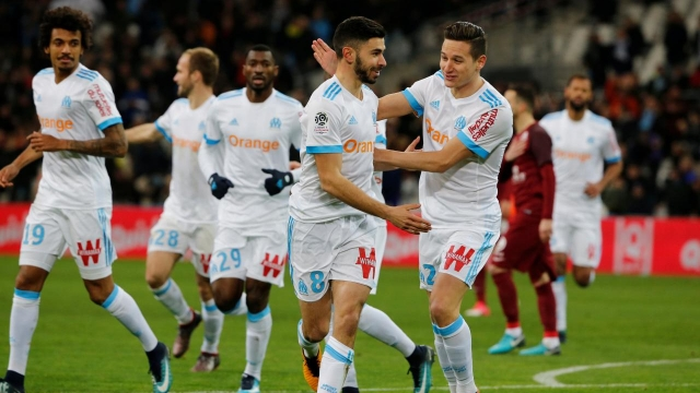 Marseille 6-3 Metz (Vòng 24 Ligue 1 2017/18)