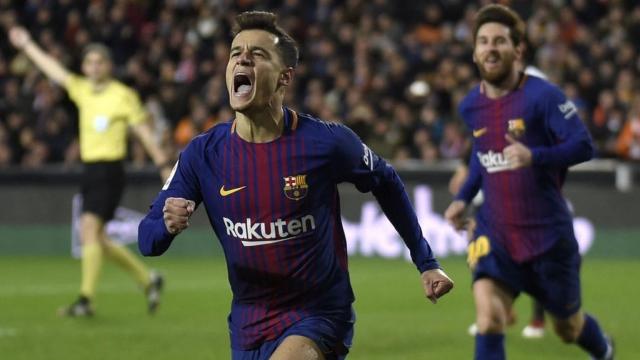 Valencia 0-2 Barcelona (Lượt về bán kết Cup Nhà vua Tây Ban Nha 2017/18)
