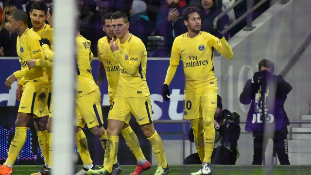 Toulouse 0-1 PSG (Vòng 25 Ligue 1 2017/18)