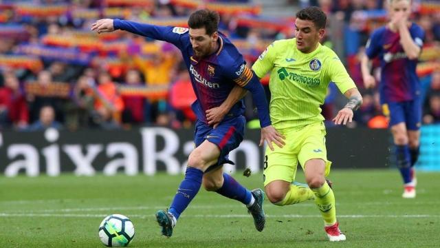 Barcelona 0-0 Getafe (Vòng 23 La Liga 2017/18)