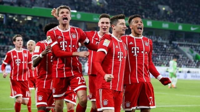 Wolfsburg 1-2 Bayern Munich (Vòng 23 Bundesliga 2017/18)
