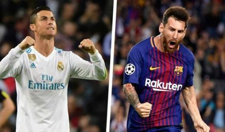 Ronaldo xếp trên Messi về thành tích ghi bàn mùa này