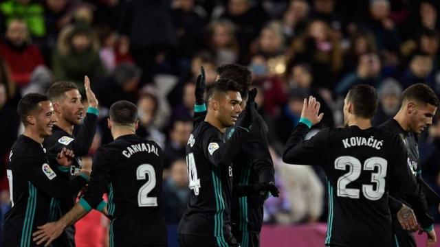 Leganes 1-3 Real Madrid (Đá bù vòng 16 La Liga 2017/18)