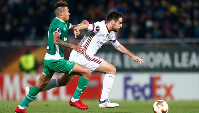 Nhận định bóng đá Milan vs Ludogorets, 3h05 ngày 23/2 (Lượt về vòng knock-out Europa League 2017/18)