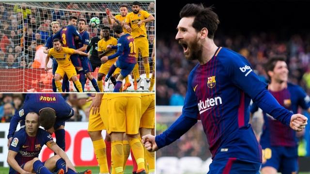 Barcelona 1-0 Atletico Madrid (Vòng 27 La Liga 2017/18)