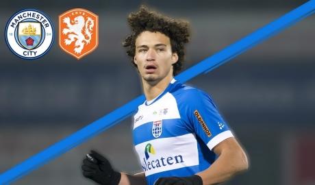 Man City bổ sung chất Hà Lan cho hàng thủ