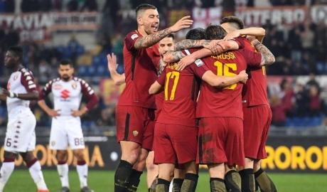 Hạ đo ván Torino, Roma giữ vững vị trí trong Top 4