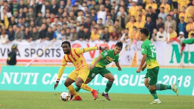 Nam Định 0-0 Cần Thơ (Vòng 1 V.League 2018)