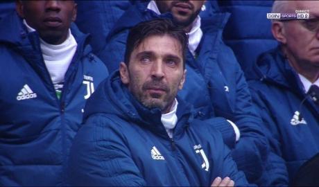 Buffon rớt nước mắt tiếc thương đồng đội cũ
