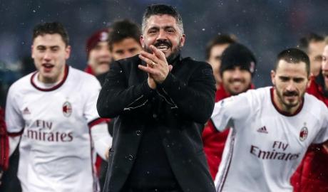 """""""Tê giác"""" Gattuso sắp nhận thưởng"""