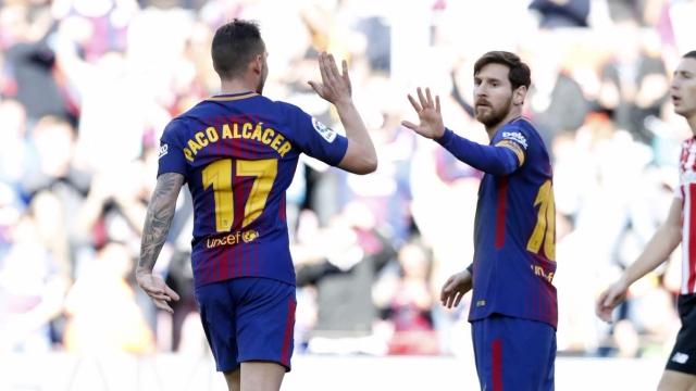 Barcelona 2-0 Athletic Bilbao (Vòng 29 La Liga)