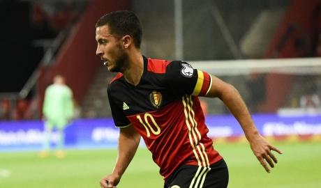 Hazard sẽ ko đá 'số 9 ảo' tại ĐT Bỉ