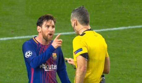 Verratti tố Messi được các trọng tài ưu ái