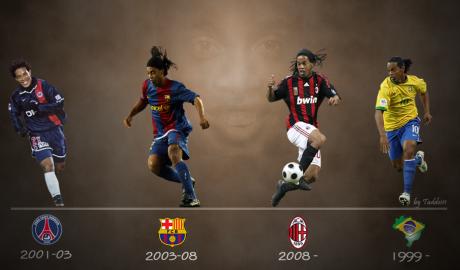 """Ronaldinho tròn 38 tuổi: """"Gã du mục"""" quái chiêu có phép màu bất tử"""