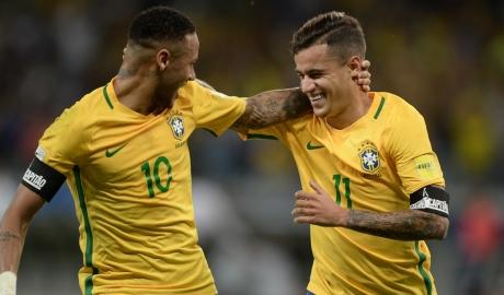 Coutinho cùng chung đẳng cấp với Neymar