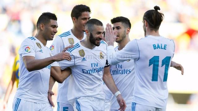 Las Palmas 0-3 Real Madrid (Vòng 30 La Liga)
