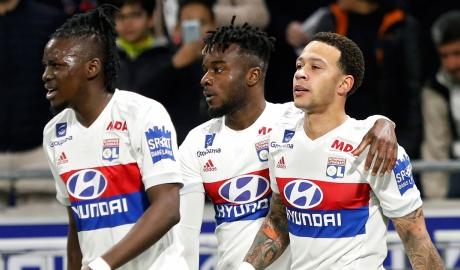 Sau vòng 32 Ligue 1: Depay có 4 kiến tạo giúp Lyon vượt mặt Marseille