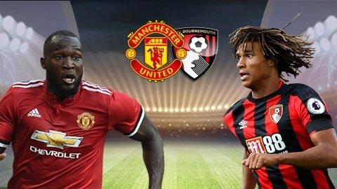 Nhận định bóng đá Bournemouth vs M.U, 1h45 ngày 19/4 (Vòng 35 Ngoại hạng Anh 2017/18)