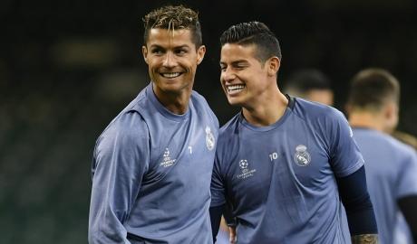 James Rodriguez: 'Bayern phải ngăn cản Ronaldo, hoặc chết'
