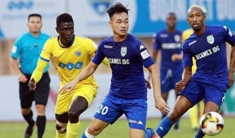 SLNA và Bình Dương kìm chân nhau ở vòng 6 V.League