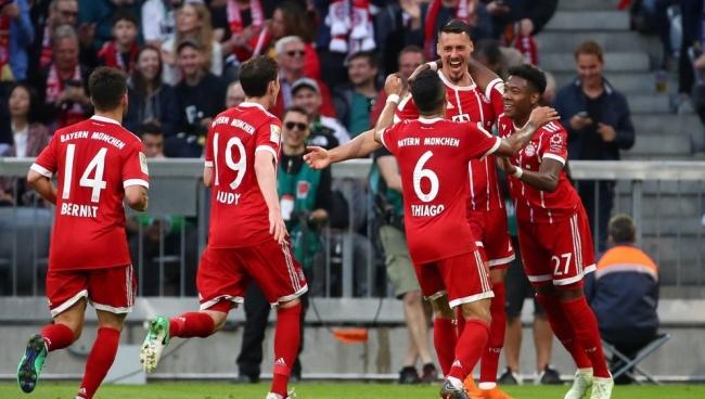 Nhận định bóng đá Hannover 96 vs Bayern Munich, 20h30 ngày 21/04 (Vòng 31 Bundesliga 2017/18)