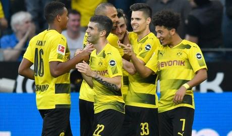 Reus lập cú đúp, Dortmund nghiền nát Levekusen