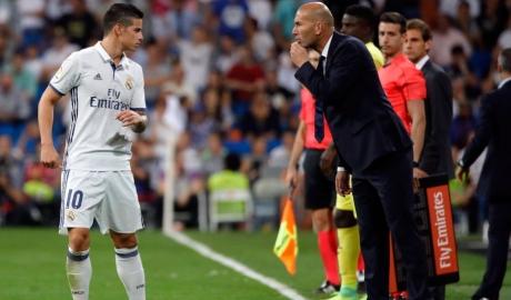 Zidane trần tình vụ đẩy James khỏi Real