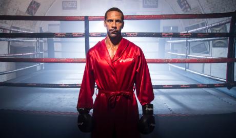 Sự nghiệp boxing của Ferdinand kết thúc từ khi còn chưa bắt đầu