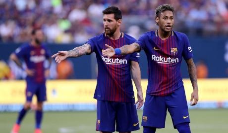Neymar rời Barcelona vì Lionel Messi