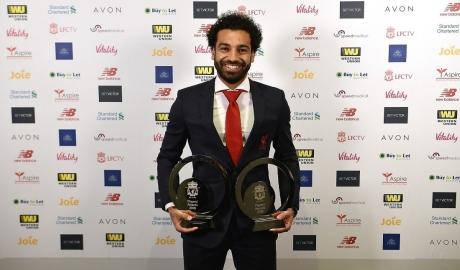 Từ Liverpool tới London, Salah ẵm liền 3 giải thưởng