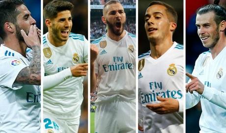 """5 cái tên khiến HLV Zidane """"đau đầu"""" trước CK C1"""