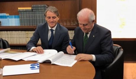Roberto Mancini được bổ nhiệm làm HLV trưởng ĐT Italia