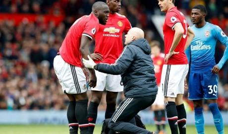 Mourinho vẫn e ngại khả năng ra sân của Lukaku